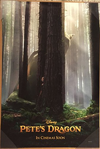 Pete's Dragon Movie Poster 2 Sided Original Advance Intl Disney