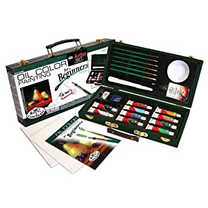 Royal and Langnickel Oil Color Painting Artist Set for Beginners (RSET-OIL3000) (RSET-OIL3000)