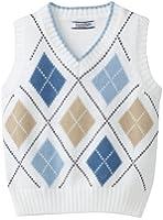 Kitestrings Big Boys' Argyle Sweater Vest