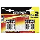 Energizer 6Max AAA 2Batterien AAA (Zylindrische Alkaline Leuchtmittel)