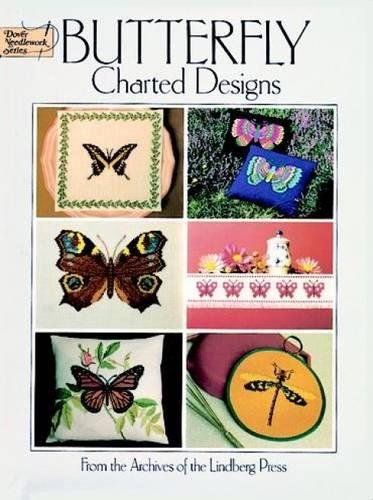 (Butterfly Charted Designs (Dover Embroidery, Needlepoint))
