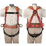 Klein 87829 Fall-Arrest/Positioning Harness for Iron Work, Small
