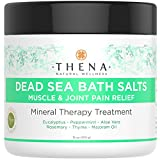Pure Dead Sea Salts Mineral Bath Soak With Therapeutic Organic Eucalyptus Peppermint, Best Natural Remedies For Sore Muscle, Aches & Joint Pain, Relieve Cold & Flu, Reduce Stiff Arthritis Inflammation