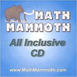 Math Mammoth All Inclusive Cd Math Mammoth 2007 Blue Golden And