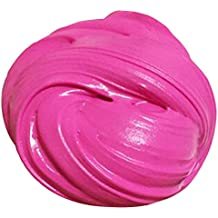Fluffy Slime ROSENICE Free Slime Toy Cotton Mud Soft Clay Sensory Toys (Rose Red)