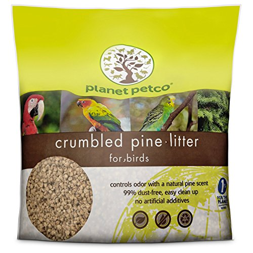 (Planet Petco Crumbled Pine Bird Litter, 10 lbs.)