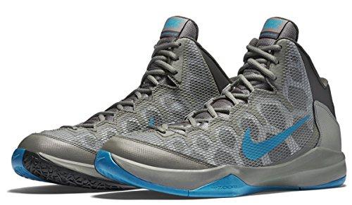 Nike Zoom Senza Dubbio Uomini Scarpe Da Basket Profondo Peltro Mens Sz 11