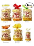 Kim's Magic Pop, Small Combo Pack A, 6 Packs: freshly popped grain snack with a wholesome blend of wheat, brown rice & corn made for today¡¯s health-conscious consumers