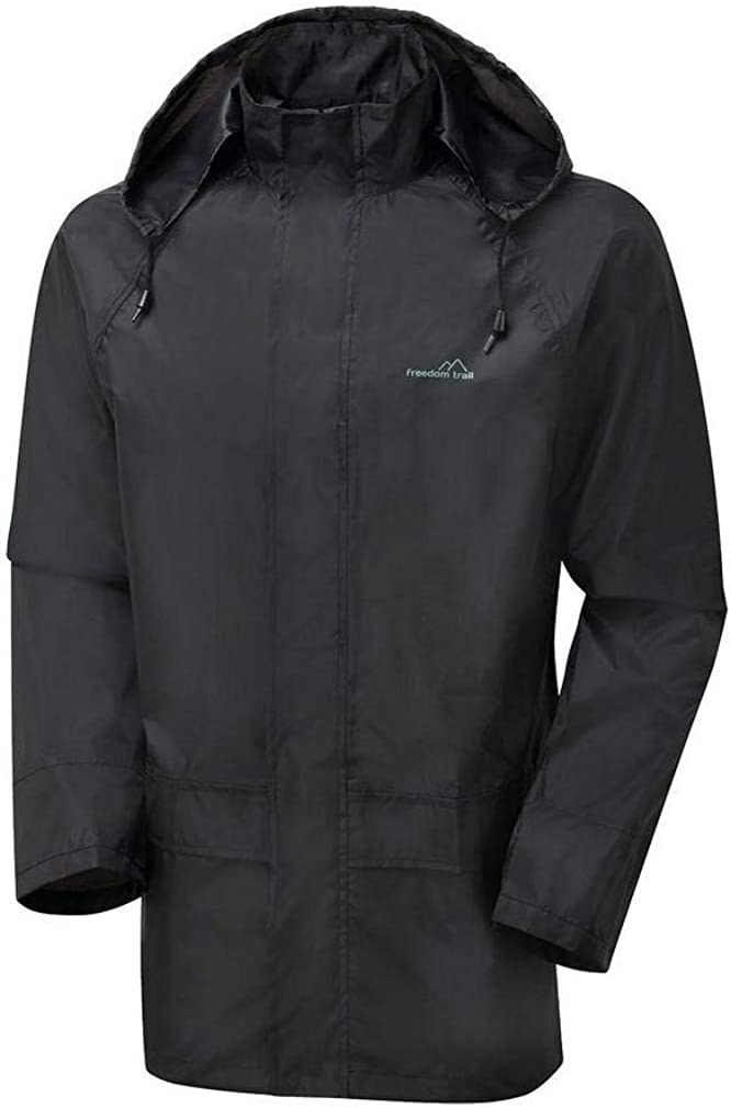 FREEDOMTRAIL Freedom Trail Mens Essential Waterproof Suit