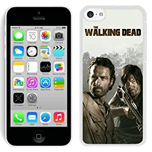 Hot Sale And Popular iPhone 5C Case Designed With The Walking Dead 25 White iPhone 5C Phone Case