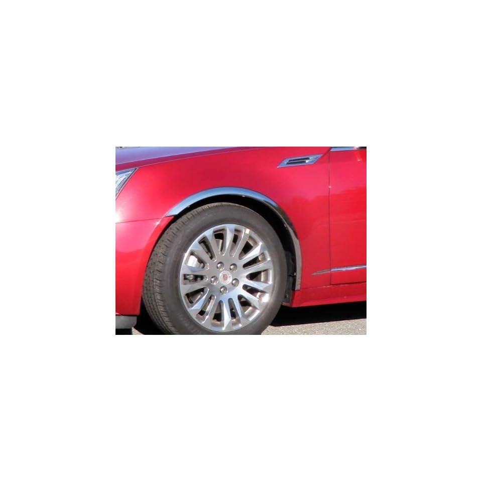 2010 2011 Cadillac CTS Sport Wagon 4pc Wheel Well Trim