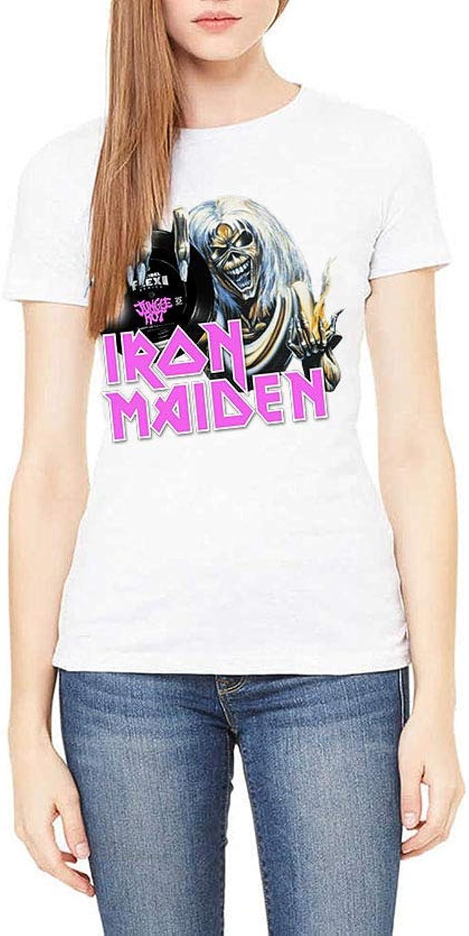 Marcacolor Camiseta Iron Maiden: Amazon.es: Ropa y accesorios