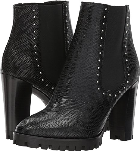 Womens Boots Black Effect Reptile The Leather with Studs Kooples vwWq5nAxCT