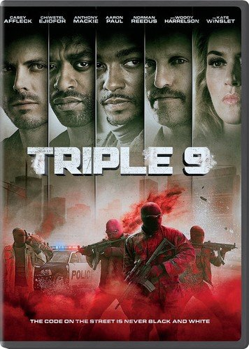 DVD : Triple 9 (Snap Case, Slipsleeve Packaging)