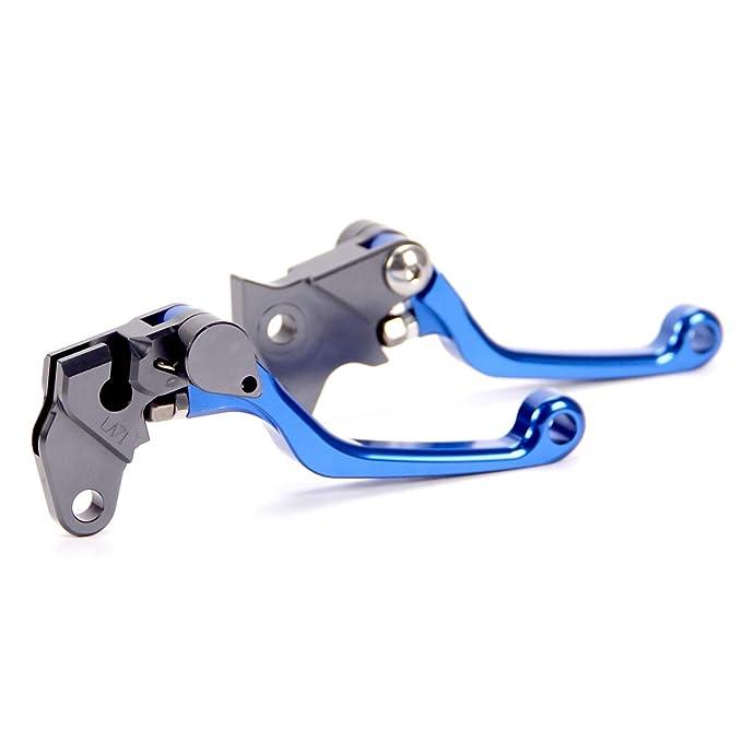 Blue Hose /& Stainless Banjos Pro Braking PBK2089-BLU-SIL Front//Rear Braided Brake Line