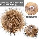 Tatuo Faux Fur Pom Pom Ball DIY Fur Pom Poms for