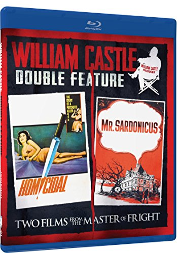William Castle Duplicated Feature - Homicidal & Mr. Sardonicus - Blu-ray