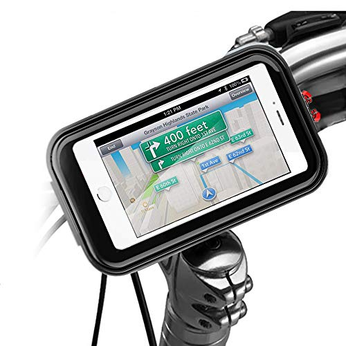 (Bike Front Phone Bags Waterproof Front Frame Top Tube Mount Cycling Phone Holder Case with Sensitive Touch Screen Road Mountain Bicycle Handlebar Storage Bags Below 6.2'' Cellphone iPhone 6 7 8 Plus X)