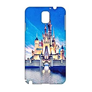 3D Case Cover Disney Castle Phone Case for Samsung Galaxy Note3