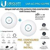 Ubiquiti Unifi UAP-AC-PRO 2-PACK PRE-CONFIGURED Dual-Radio Pro Access Point