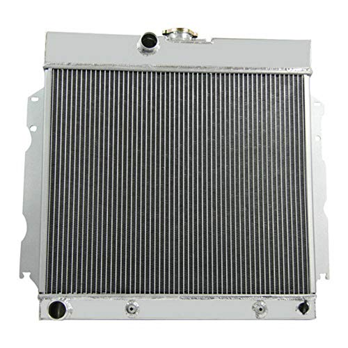 (CoolingCare 4 Row Aluminum Radiator for 65-69 Coronet, 66-69 Charger, Fury 63-67/ Dodge& Plymouth Many)