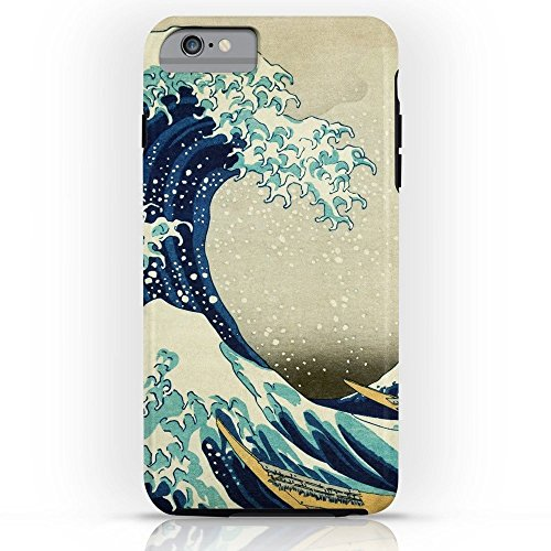 Roses Garden Phone Case Protectivedesign Hard Back Case Great Wave Off Kanagawa. Japanese Vintage Fine Art. Tough Case for iPhone 6s Plus