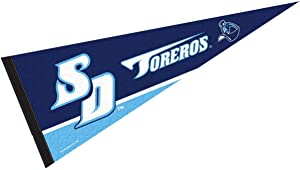 College Flags & Banners Co. San Diego Toreros Pennant Full Size Felt