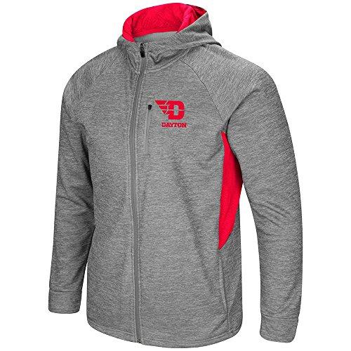 Colosseum Mens Dayton Flyers Full Zip Jacket - XL