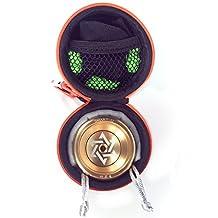 Cool Aluminum Professional YoYo Ball Bearing String Trick Alloy Chinese Yo Yo Set Gold