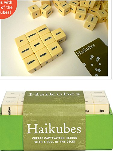 Haikubes: Create Captivating Haiku With a Roll of the Dice!