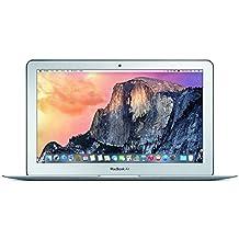 Apple MacBook Air MJVM2LL/A 11.6 inch Laptop (Intel Core i5 Dual-Core 1.6GHz up to 2.7GHz, 4GB RAM, 128GB SSD, Wi-Fi, Bluetooth 4.0, Integrated Intel HD Graphics 6000, Mac OS) (Refurbished)