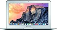 Apple MacBook Air MJVM2LL/A 11.6 Inch Laptop (Intel Core i5 Dual-Core 1.6GHz up to 2.7GHz, 4GB RAM, 128GB SSD, Wi-Fi, Blueto