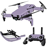 MightySkins Skin for DJI Mavic Air Drone - Solid Lavender | Max Combo Protective, Durable, and Unique Vinyl Decal wrap cover | Easy To Apply, Remove, and Change Styles | Made in the USA