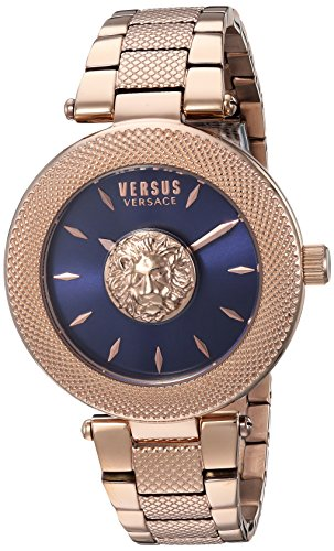 Versus by Versace Women's 'Brick Lane' Quartz Stainless Steel and Gold Plated Casual Watch(Model: VSP212617)