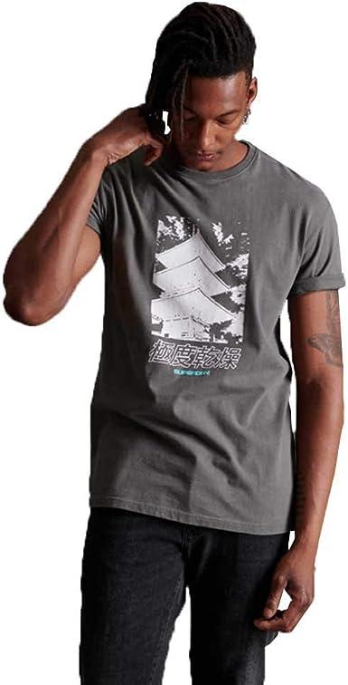Superdry JPN Code tee Camisa para Hombre: Amazon.es: Ropa y accesorios