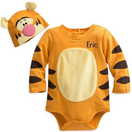 Disney Store Tigger Baby Bodysuit Hat Halloween Costume 2018 -
