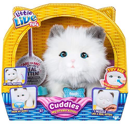 Little Live Pets Cuddles My Dream Kitten - Pet Cat Kitten