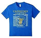 Capricorn Facts Zodiac Sign T-Shirt