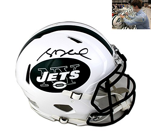Sam Darnold Autographed Signed New York Jets Authentic NFL Helmet b7d52c884