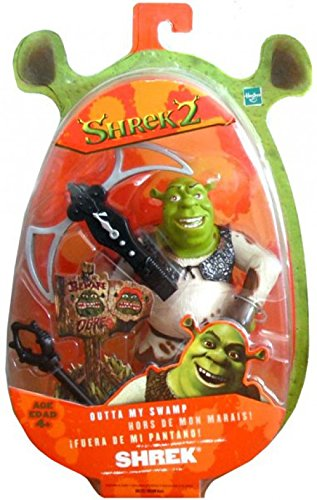Hasbro Dreamworks Shrek 2 Movie Action Figure Outta My Swamp Version