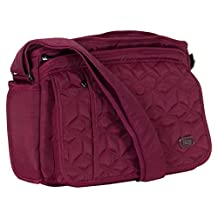 Lug Women's Wings Cross Body Bag, Brushed Red, One Size