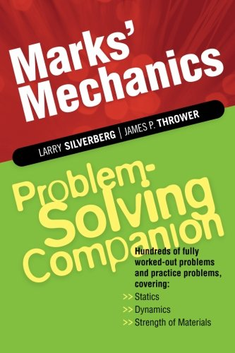 Download Marks' Mechanics Problem-Solving Companion ebook