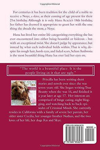 True Beauty: Priscilla Wu: 9781500653279: Amazon com: Books