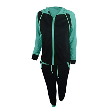 WNGO_Women trouser - Chándal - para Mujer Verde Verde S: Amazon.es ...