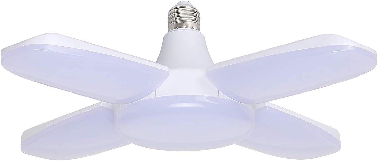 2X 60W Deformable LED Garage Ceiling Light Adjustable Workshop Daylight 85-265V