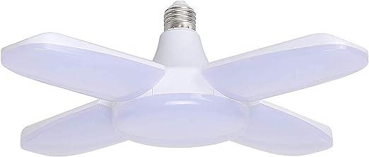 60W E26 Garage Light Bulb Deformable Ceiling Fixture Lights Shop Workshop Lamp..