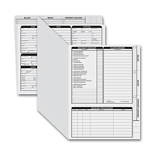 EGP Letter Size Real Estate Listing Folder Right Panel by EGPChecks by EGPChecks
