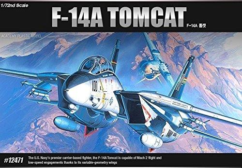 Academy 1/72 U.S.NAVY SWING-WING FIGHTER F-14A TOMCAT FA061/ 12471 /item# G4W8B-48Q55884