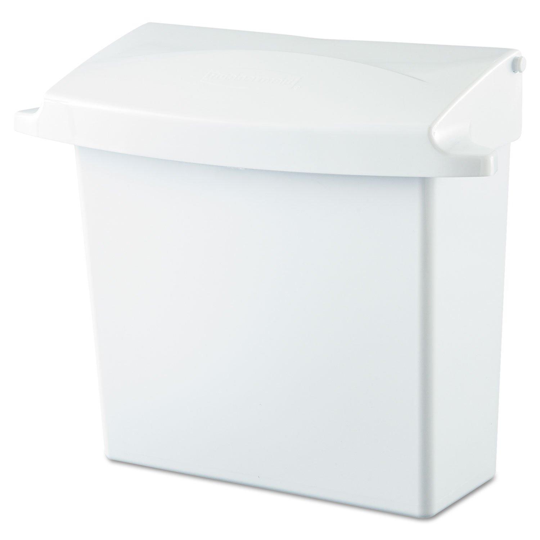 RCP614000 - Sanitary Napkin Receptacle,12-1/2x5-1/4x10-3/4,White