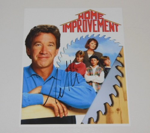 Home Improvement Tool Time Tim Allen Hand Signed Autographed 8x10 Glossy Photo Loa